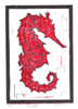 Red Seahorse by viana