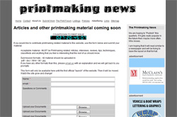 The Printmaking News