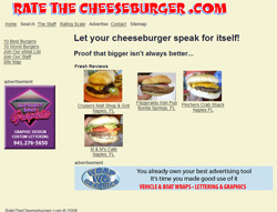 Rate The Cheeseburger
